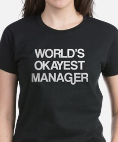 World's Okayest Manager Tee