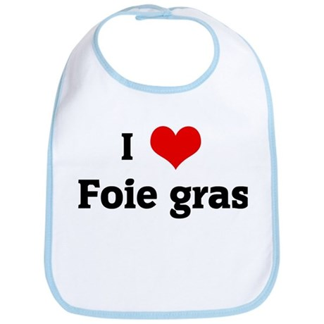 I Love Foie gras Bib
