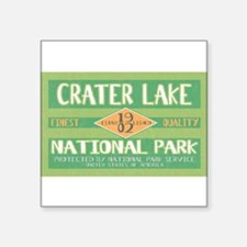 Crater Lake National Park (Retro) Sticker