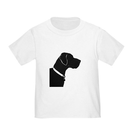 Great Dane with collar and tag T-Shirt