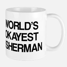 World's Okayest Fisherman Mug