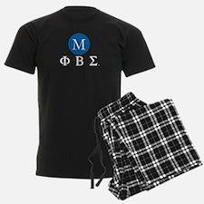 Phi Beta Sigma Letters Monogra pajamas