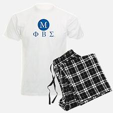 Phi Beta Sigma Letters Monogr pajamas