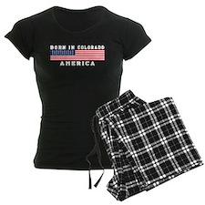 Born In Colorado Pajamas