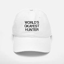 World's Okayest Hunter Baseball Baseball Cap