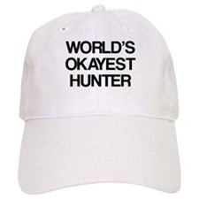 World's Okayest Hunter Baseball Cap