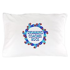 Swimming Coaches Rock Pillow Case