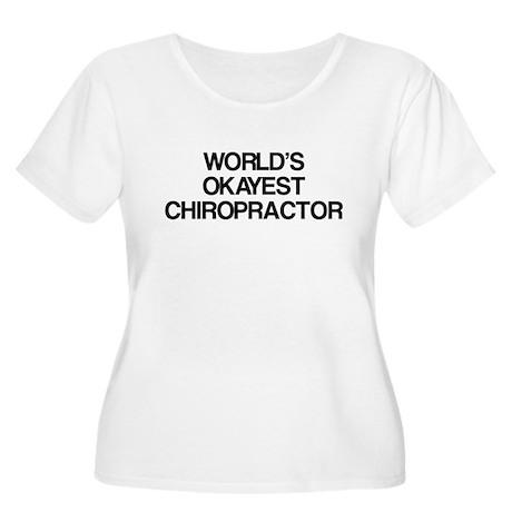 World's Okayest Chiropractor Women's Plus Size Sco