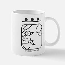 WHITE Galactic DOG Mug