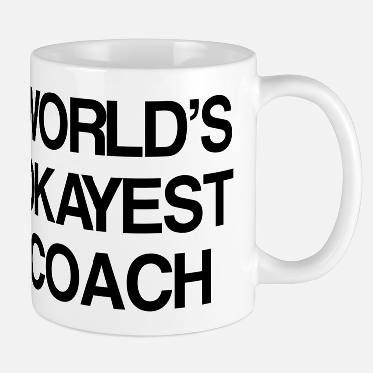 World's Okayest Coach Mug