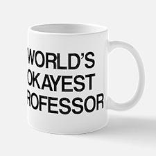World's Okayest Professor Mug