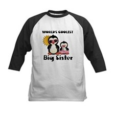big sister penguin Baseball Jersey