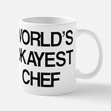 World's Okayest Chef Mug