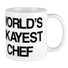 World's Okayest Chef Mug