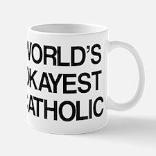 World's Okayest Catholic Mug