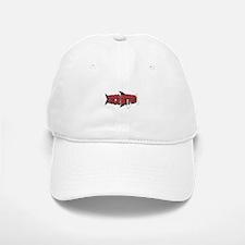 Once Bitten Fishing Design Baseball Baseball Cap
