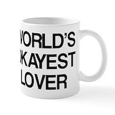 World's Okayest Lover Small Mug
