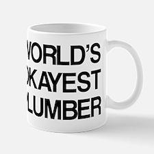 World's Okayest Plumber Mug
