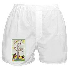 animal tree Boxer Shorts