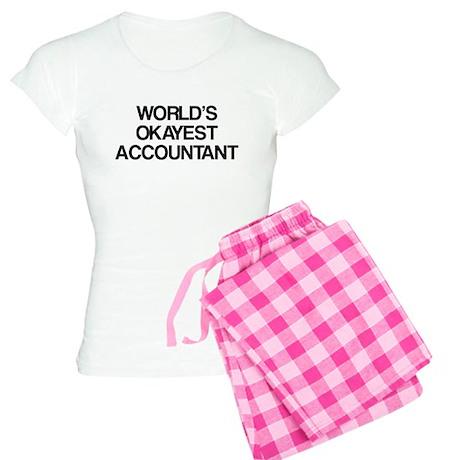 World's Okayest Accountant Women's Light Pajamas