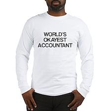 World's Okayest Accountant Long Sleeve T-Shirt