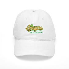 Gingers Do It Better Baseball Baseball Cap