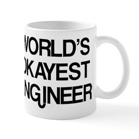 World's Okayest Engineer Mug
