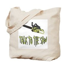 The Saw Tote Bag