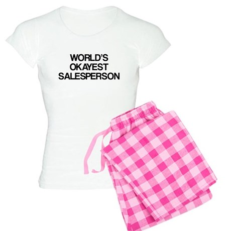 World's Okayest Salesperson Women's Light Pajamas