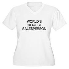 World's Okayest Salesperson T-Shirt