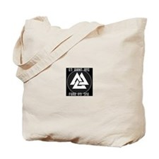 ASATRU VOLKNOT DO RIGHT ODINIST SYMBOL Tote Bag
