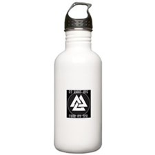 ASATRU VOLKNOT DO RIGHT ODINIST SYMBOL Water Bottl