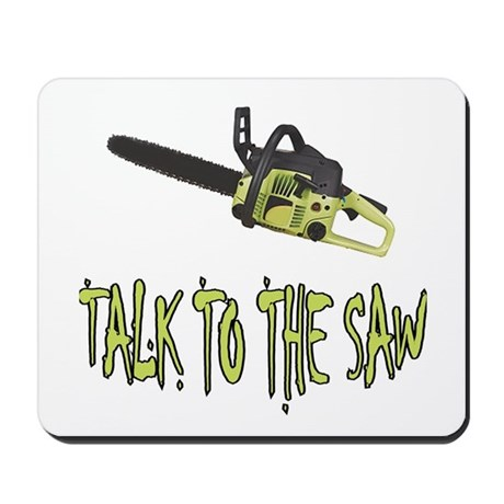 The Saw Mousepad