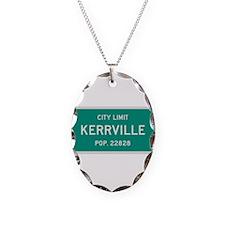 Kerrville, Texas City Limits Necklace