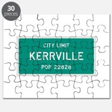 Kerrville, Texas City Limits Puzzle