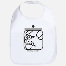 WHITE Spectral DOG Bib