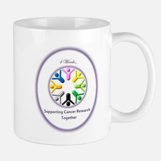 Supporting Cancer Research Together Mug