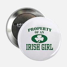 "Property of an Irish Girl 2.25"" Button"