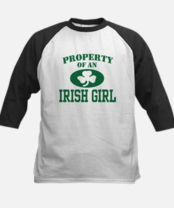 Property of an Irish Girl Kids Baseball Jersey