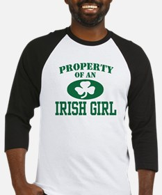 Property of an Irish Girl Baseball Jersey