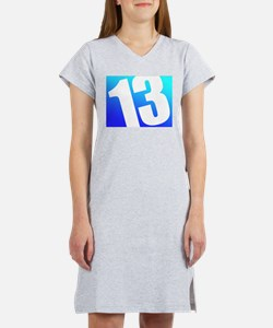 Number 13 Women's Nightshirt