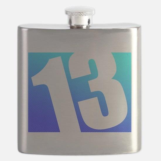 Number 13 Flask