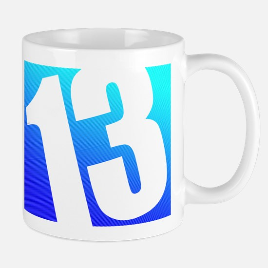 Number 13 Mug