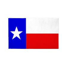 TEXAS FLAG 3'x5' Area Rug