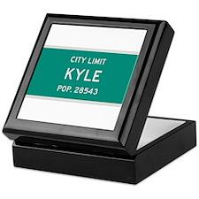 Kyle, Texas City Limits Keepsake Box