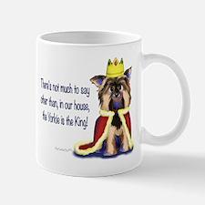Yorkie King Mug