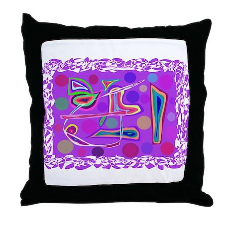 Primitive Throw Pillow by MasabosOnlineStore3