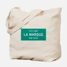 La Marque, Texas City Limits Tote Bag