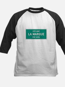La Marque, Texas City Limits Baseball Jersey