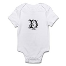 Denise: Fancy Monogram Infant Bodysuit